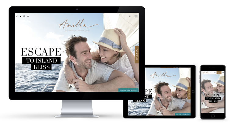 Refined Bliss: Amilla Fushi Gets a Branding Makeover